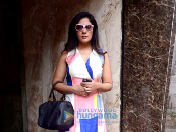 Richa Chadda, Irrfan Khan and Zaira Wasim snapped in Mumbai