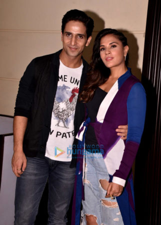 Richa Chadda and Arslan Goni at Jia Aur Jia Promotions