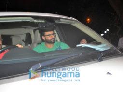 Saif Ali Khan, Karisma Kapoor at Kareena Kapoor Khan snapped at a house party