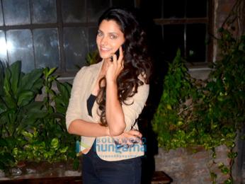 Saiyami Kher spotted at Palli Village Cafe