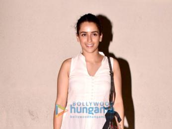 Sanya Malhotra spotted outside PVR Juhu