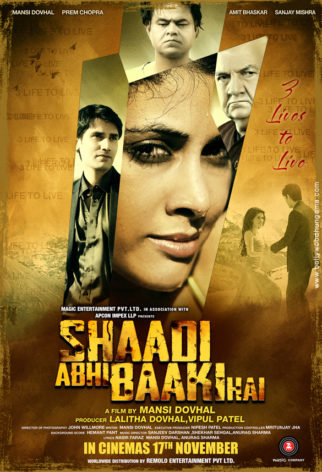 First Look Of The Movie Shaadi Abhi Baaki Hai