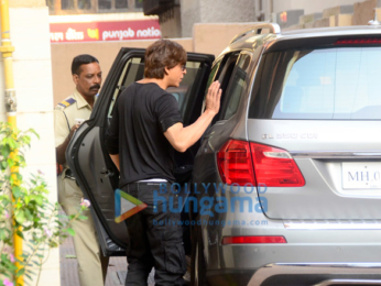 Shah Rukh Khan and Katrina Kaif snapped at Bastian