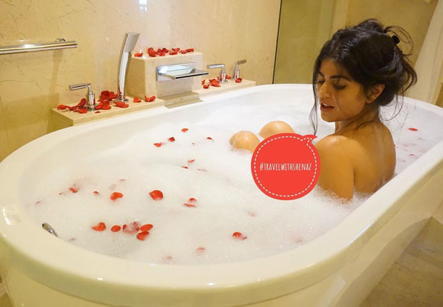 Shenaz Treasury shares a glimpse of her bubble bath, the best part of her staycation