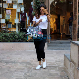 Shilpa Shetty spotted at Anita Dongre's store