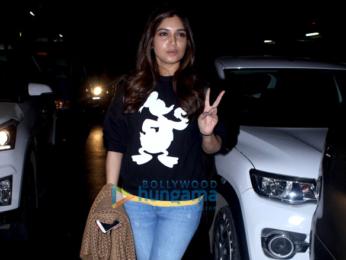 Sidharth Malhotra and Bhumi Pednekar snapped at the airport
