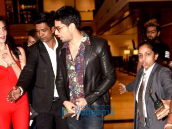 Sidharth Malhotra attends 'Ittefaq' interviews at Taj Lands End in Mumbai