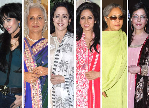 Six Generations of Amitabh Bachchan's Heroines From the '50s to the Millennium!