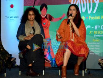 Sona Mohapatra and Susheela Raman at Paddy Fields - Folk and Fusion Music Festival, 2017