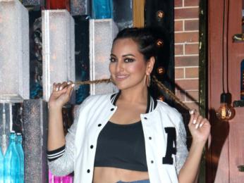 Sonakshi Sinha at an episode of 'Lip Sync Battle'
