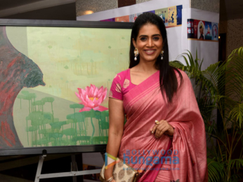 Sonali Kulkarni snapped at the breast cancer awareness campaign