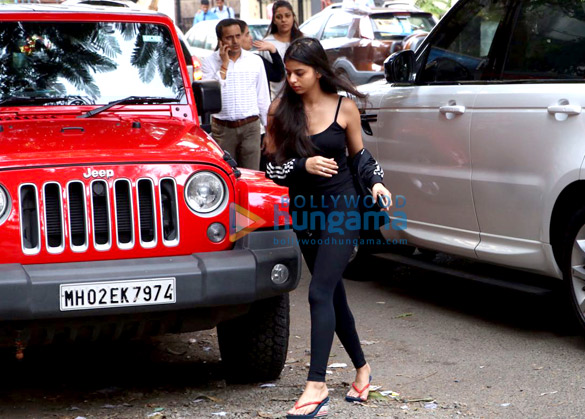 Suhana Khan spotted in Bandra