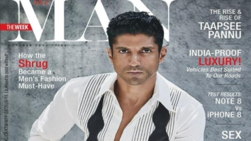 Farhan Akhtar On The Cover Of The Man