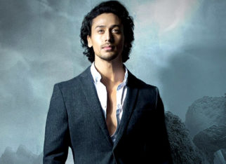 Tiger Shroff lands on the sets of Baaghi 2 quite literally features