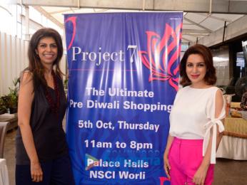 Tisca Chopra at 'Project 7' hosted by Zeba Kohli