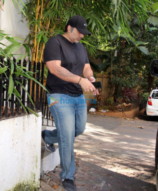 Uday Chopra spotted at Imran Khan's residence