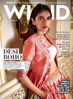 Aditi Rao Hydari On The Cover Of WKND