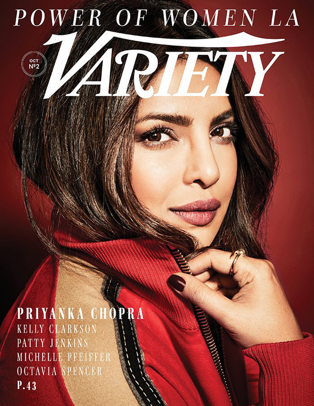 WOW! Priyanka Chopra is pure elegance and powerful 'bawse' on Variety's Power of Women special cover