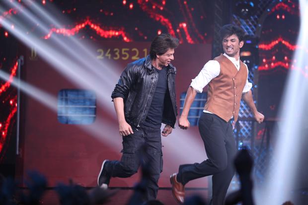 WOW! Shah Rukh Khan and Sushant Singh Rajput set the stage Chhaiya'