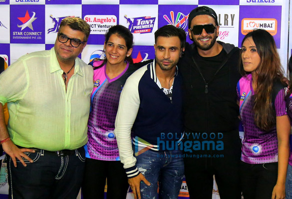 Ranveer Singh graces Tony Premier League