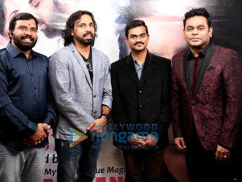 A R Rahman launches the music of Telugu film 'E Ee'