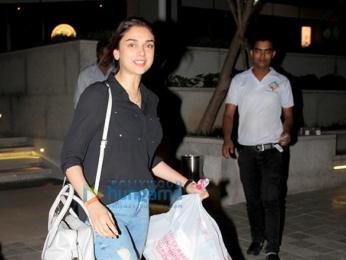 Aditi Rao Hydari spotted at BKC Bandra
