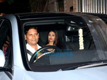 Aishwarya Rai Bachchan, Hrithik Roshan, Vidya Balan and others snapped attending a wedding ceremony