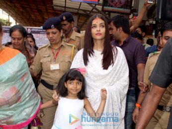 Aishwarya Rai Bachchan and her mom seek blessings at Siddhivinayak temple on her birthday
