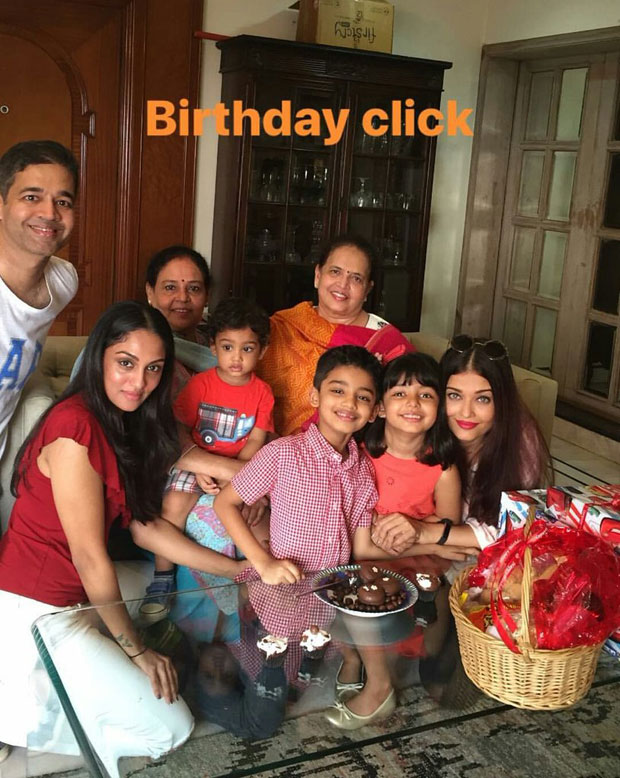 Aishwarya Rai Bachchan celebrates her nephew's birthday with Aaradhya and family!