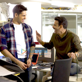 On The Sets Of The Movie Aiyaary
