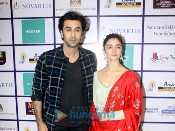 Alia Bhatt and Ranbir Kapoor at Nehru Centre to spread awarness on organ donation