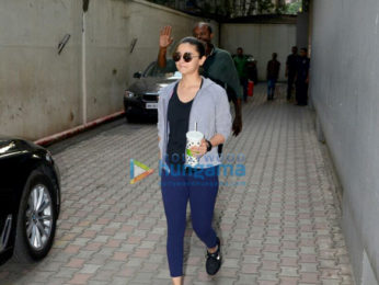 Alia Bhatt spotted at Vishesh films' office in Khar