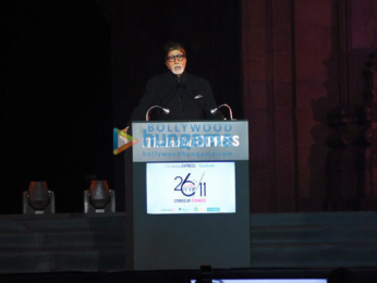 Amitabh Bachchan attends the 2611 - Stories of Strength event at Gateway of India