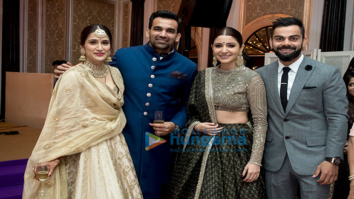 Anushka Sharma, Virat Kohli & others attend Zaheer Khan- Sagarika Ghatge's wedding reception