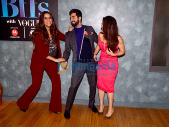 Ayushmann Khurrana and Bhumi Pednekar for Vogue BFFs