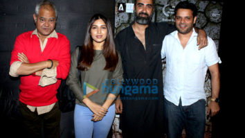 Bhumi Pednekar, Ranvir Shorey and others grace the special screening of 'Kadvi Hawa'