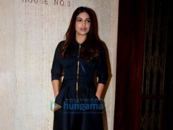 Bhumi Pednekar snapped at Manish Malhotra's house