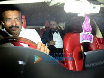 Bollywood stars visit Deepika Padukone's residence for a bash to celebrate Padmavati trailer's success