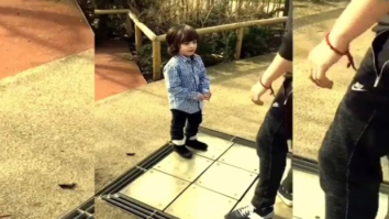 CUTE! Shah Rukh Khan shares adorable video of a dancing AbRam on Children's Day