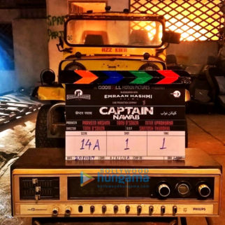 On The Sets Of The Movie Captain Nawab