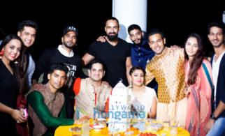 Celebs attend Saurabh Pandey And Zara Barring's Mehndi celebrations