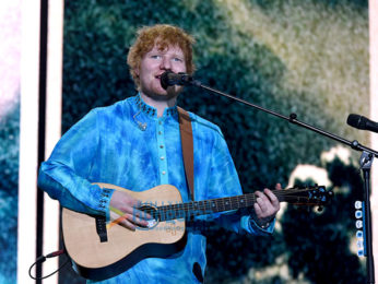 Celebs grace Ed Sheeran's concert