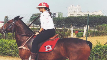 Check out Alia Bhatt takes some horse riding lessons; is this for Brahmastra