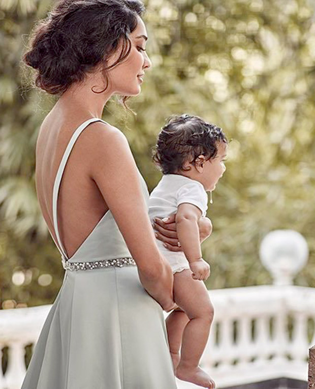 Check out Gorgeous Lisa Haydon and son Zack Lalvani make a beautiful mommy-son pair