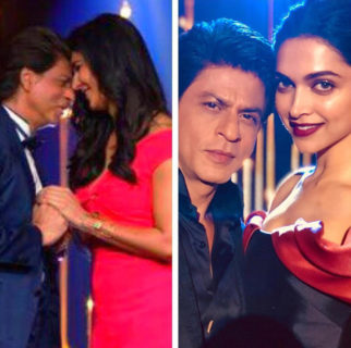 Check out Shah Rukh Khan has a hard day at work with Katrina Kaif and Deepika Padukone