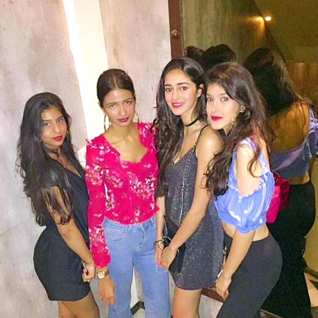 Check out Suhana Khan, Shanaya Kapoor celebrate their BFF Ananya Panday's birthday in style