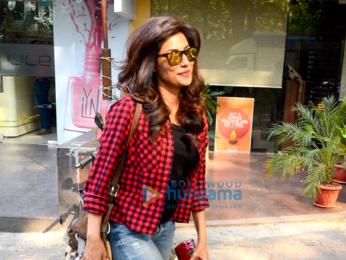 Chitrangda Singh spotted at Juice Salon
