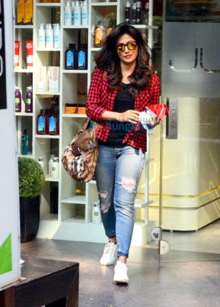 Chitrangda Singh spotted at Juice Salon