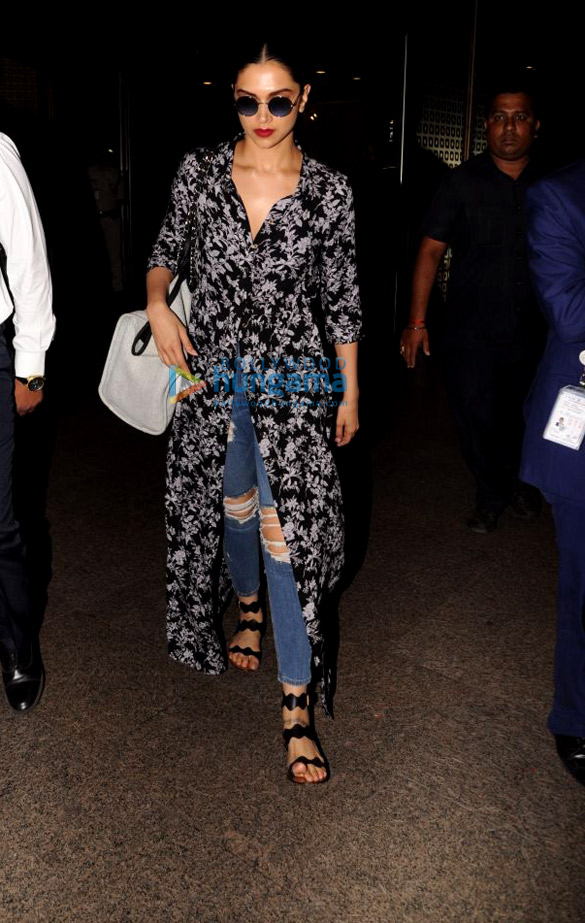 Deepika Padukone, Madhuri Dixit and others snapped at the airport