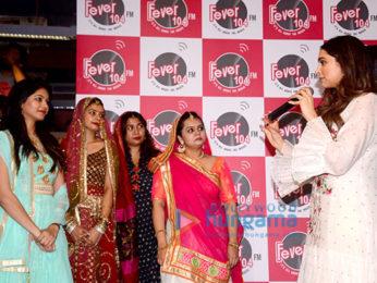 Deepika Padukone promotes 'Padmavati' at the studio of 'Fever 104 FM'